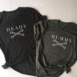 Tops - 🎃Halloween Pregnancy Announcement Shirts! 👻 M